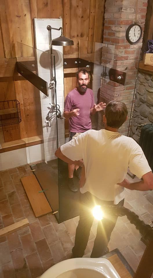 Création verre acier ferronnerie salle de bain Paul Estier (2)