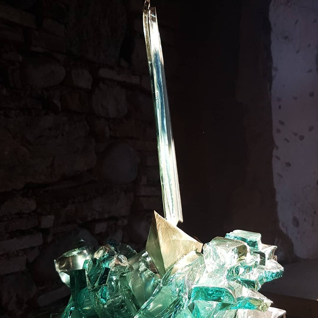 Sculpture métal et verre acier et verre paul estier artiste 2018 lausanne genève neuchatel yverdon (19)