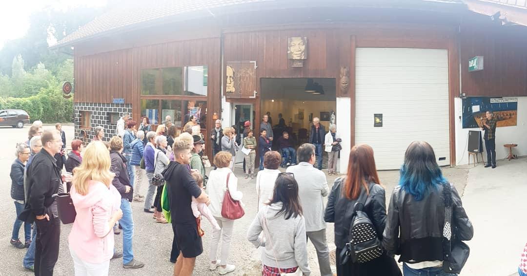 Vernissage chez : www.gressyland.ch #gressyland 1/9/2018