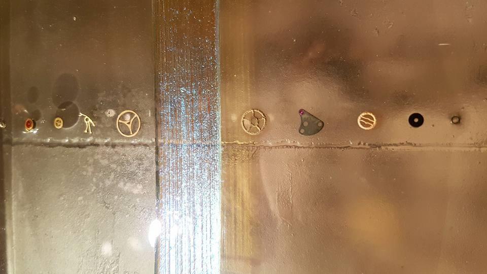 Sculpture métallique et verre Paul Estier Suisse Art Exposition (13)