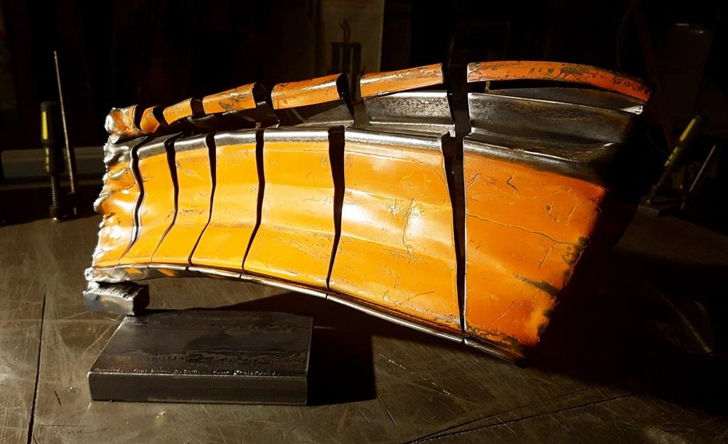 Sculpture métallique et verre Paul Estier Suisse Art Exposition (15)