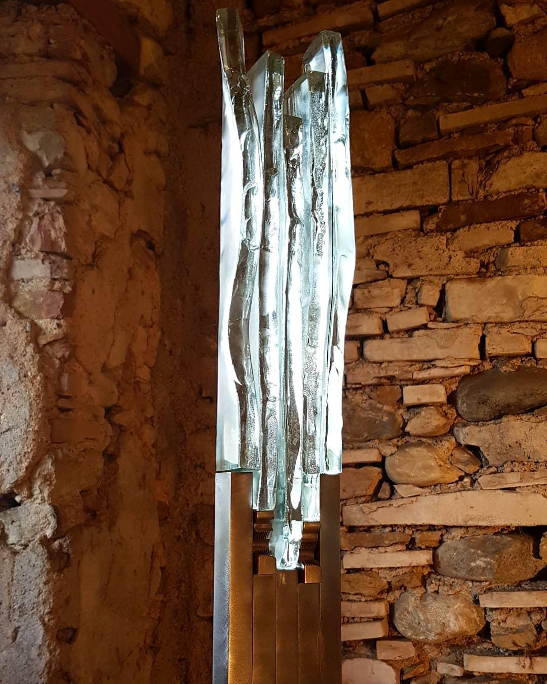 1 paulestier+sculpture+acier+verre