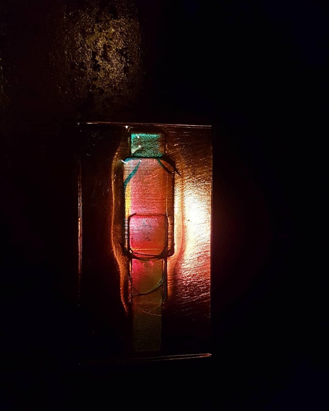 Sculpture acier et verre métal et verre paul estier artiste genève lausanne neuchatel yverdon (2)
