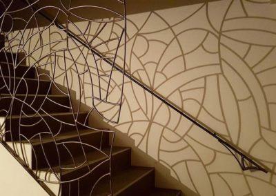 Sculpture acier verre suisse art Paul Estier exposition photo (17)