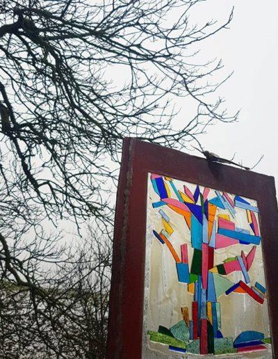 Sculpture acier verre suisse art Paul Estier exposition photo (18)