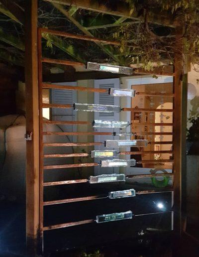 Sculpture acier verre suisse art Paul Estier exposition photo (7)
