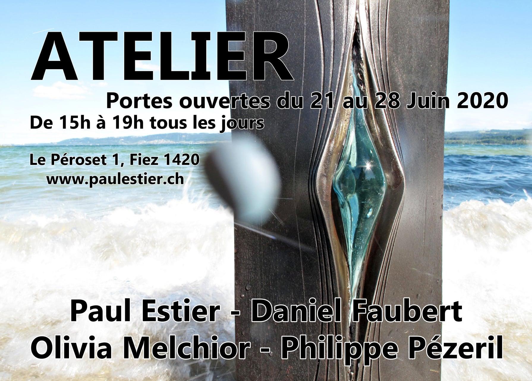 Paul Estier_2020_Portes ouvertes atelier