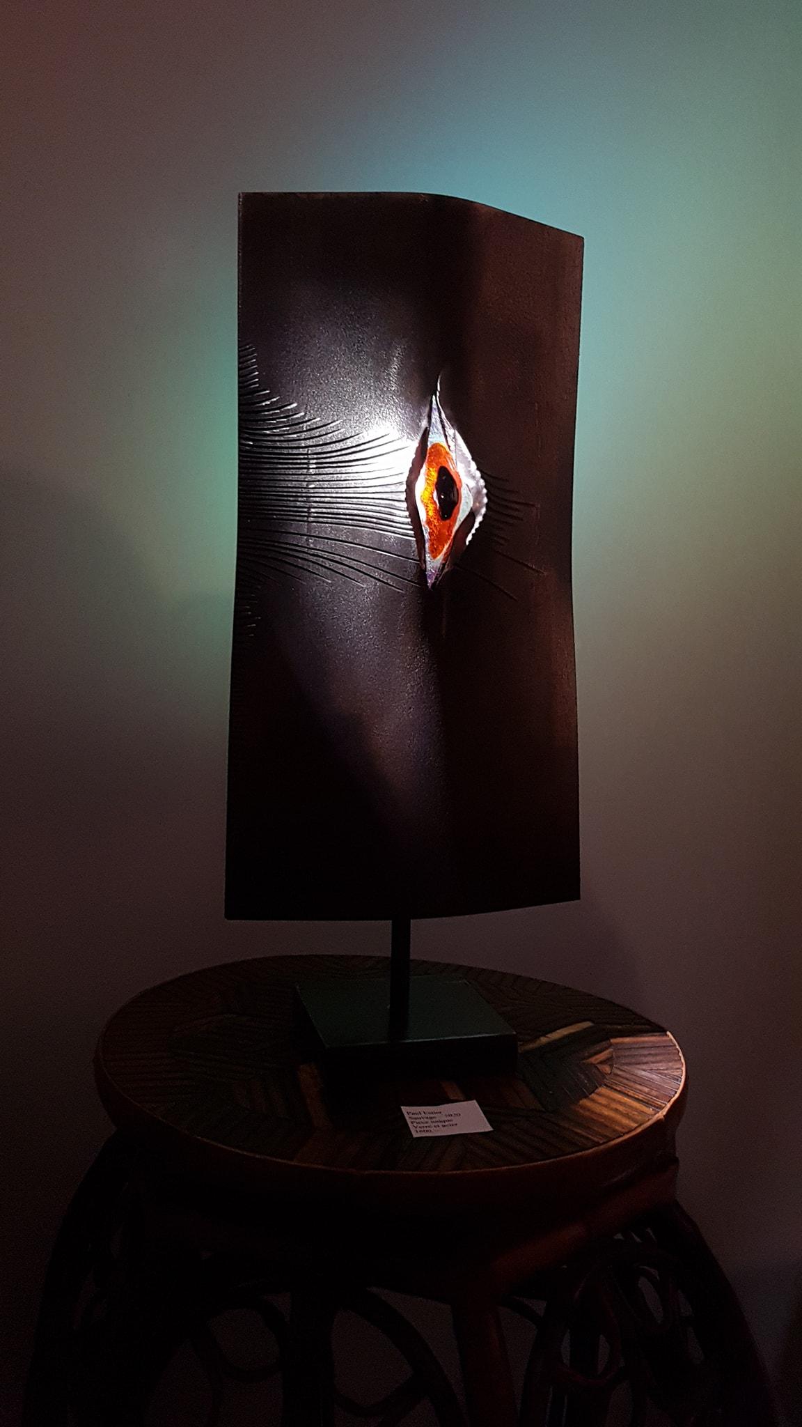 Paul Estier_2020_Sauvage_Sculpture acier et verre