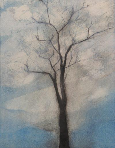 2019_Arbre_Peinture Paul Estier