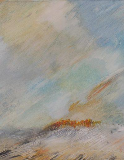 2019_Grand incendie_Peinture Paul Estier